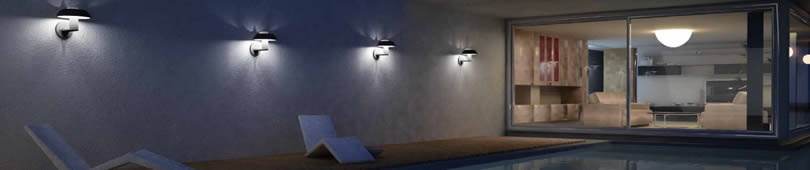 Applique LED per esterni moderne