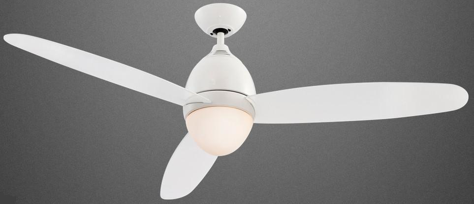 PREMIER WHITE FAN Modern ceiling fans with light