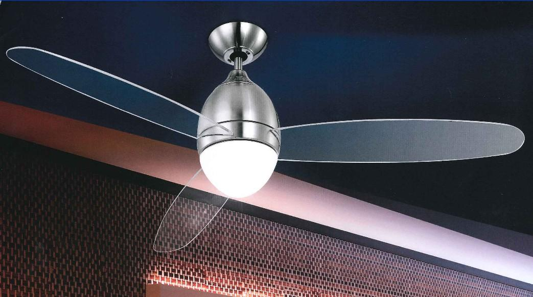 PREMIER NICKEL VENTILATORE Globo Lighting - Ventilatori soffitto ...