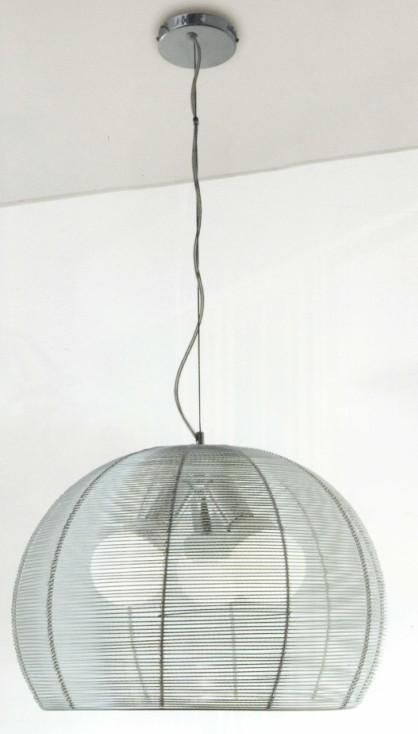 BASKET METAL SUSPENSION Ultramodern hanging lamps