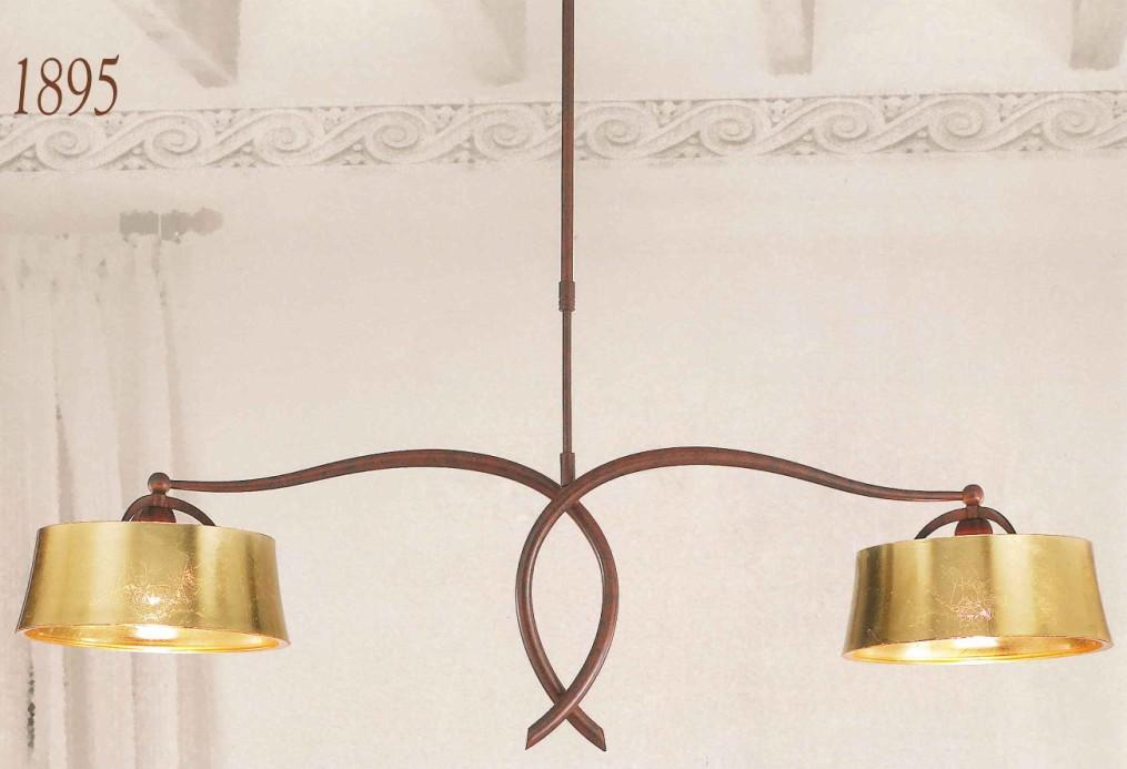 1895 SUSPENSION BARBELL Classic suspended lamps