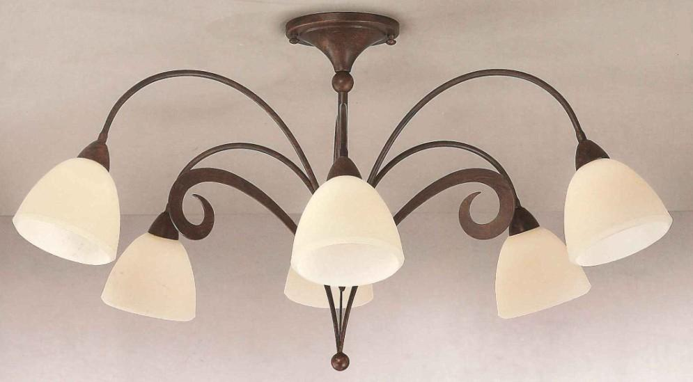 1945 lampada da soffitto 6 luci lam export 1945 6pl for Lampadario camera da letto