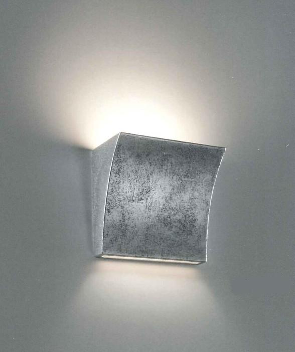 2012 WALL LAMP LEAF SILVER OR GOLD Lamps wall ceramic / gypsum