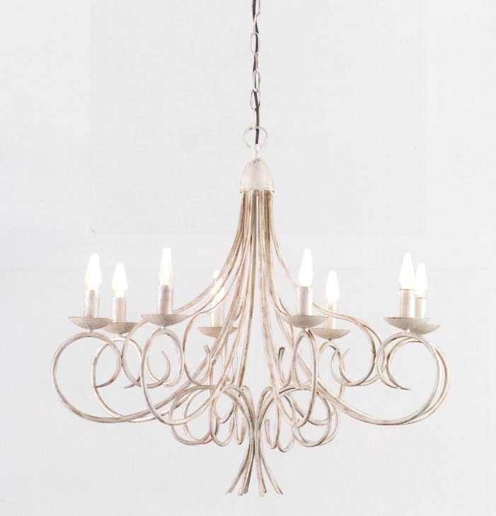 2610 CHANDELIER 8 LIGHTS Classic suspended lamps