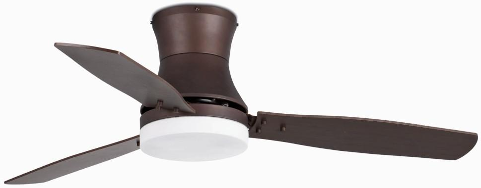TONSAY CEILING DARK BROWN Classic ceiling fans with light