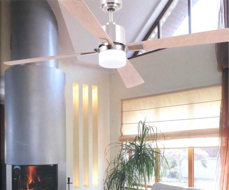PALK STAINLESS STEEL Modern ceiling fans with light