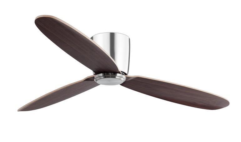 NIAS SATIN NICKEL Ceiling fans without light