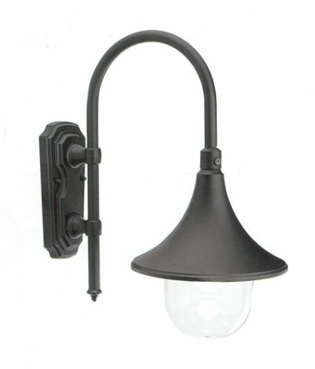 LAMPARA WALL LAMP BLACK Classical exterior wall lighting