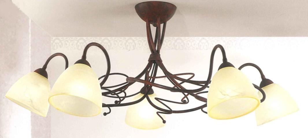 4215 - 5 LAMP CEILING LIGHTS Classic overhead lights