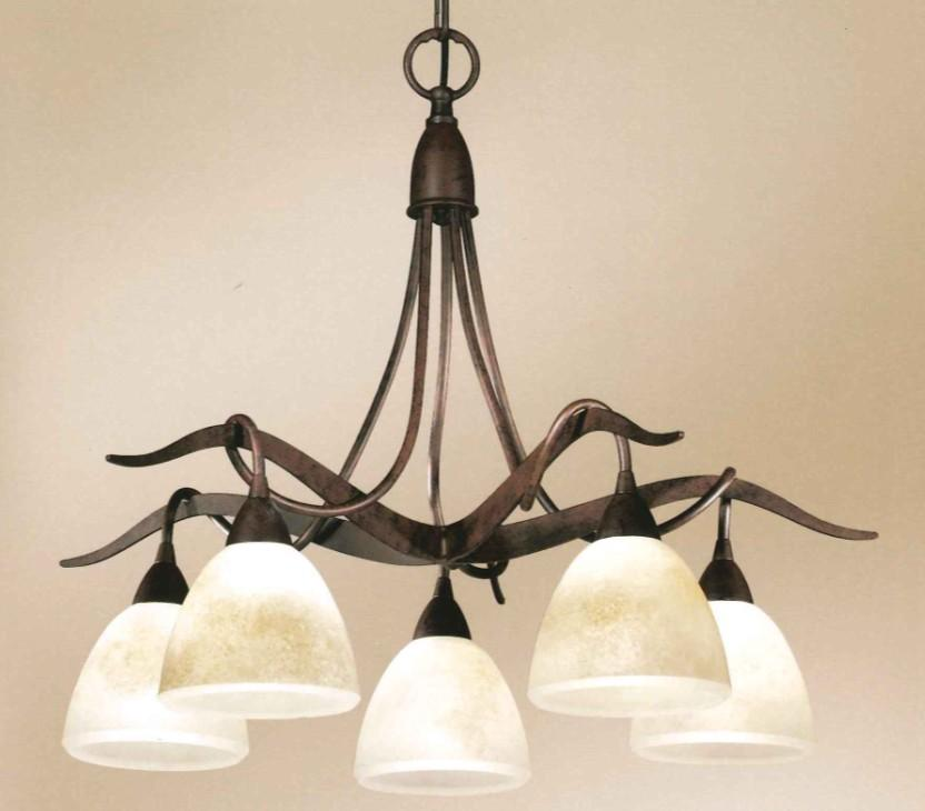 4280 CHANDELIER 5 LIGHTS Classic suspended lamps