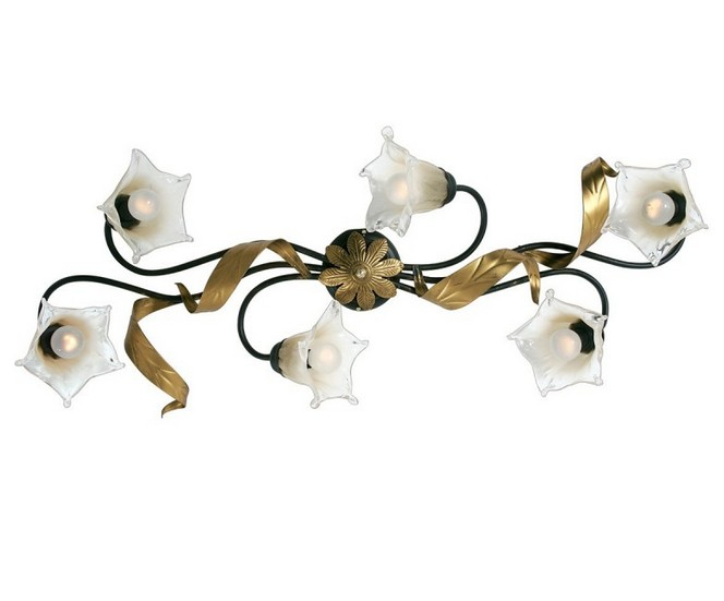 476 / PL6 CEILING RUSTY ANTIQUE GOLD Classic overhead lights