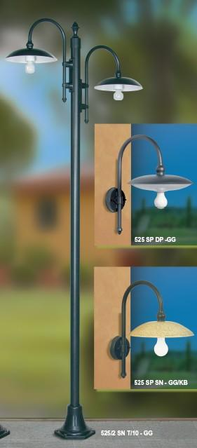 OUTSIDE PALO H 235 Classic floor lamps for exterior use