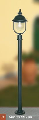 OUTSIDE PALO H 160 Classic floor lamps for exterior use