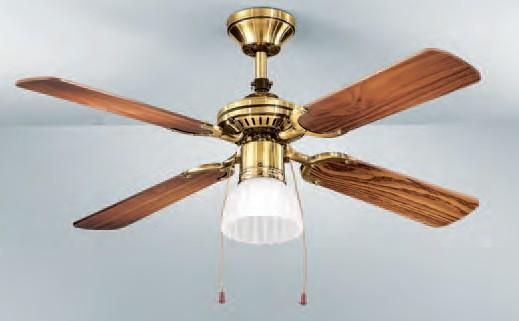 7064-OB CLASSIC FAN DIAMETER 105 Classic ceiling fans with light