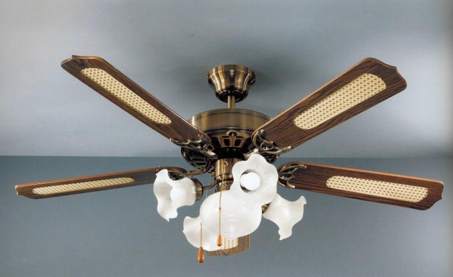 7066-OB CLASSIC FAN DIAMETER 130 Classic ceiling fans with light