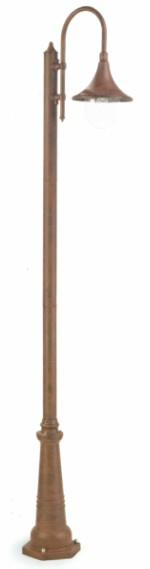 PALO ALTO DELUXE ALUMINUM Classic floor lamps for exterior use