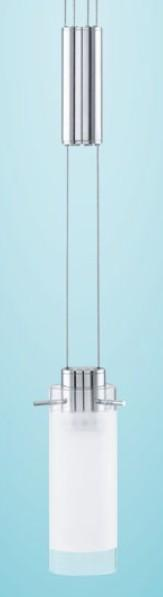 AGGIUS LED 1 LIGHT Suspended lamps with LED