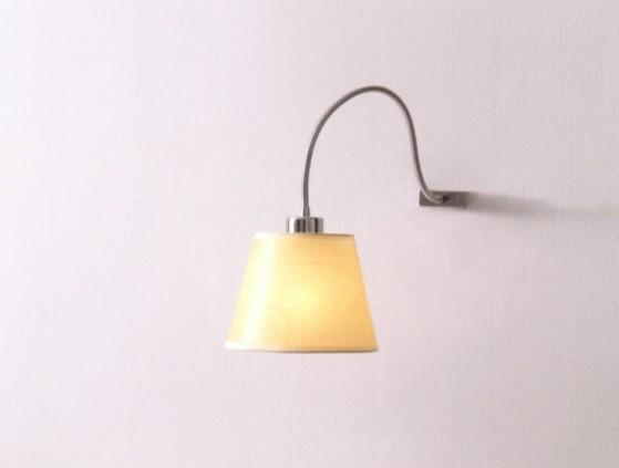 SOFT WALL WITH PARCHMENT SHADE Modern wall lights