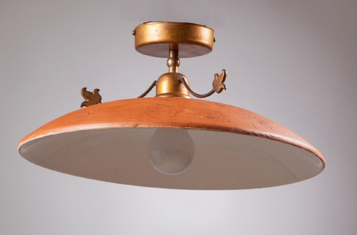 ANTIQUE TUSCAN Rustic overhead lights