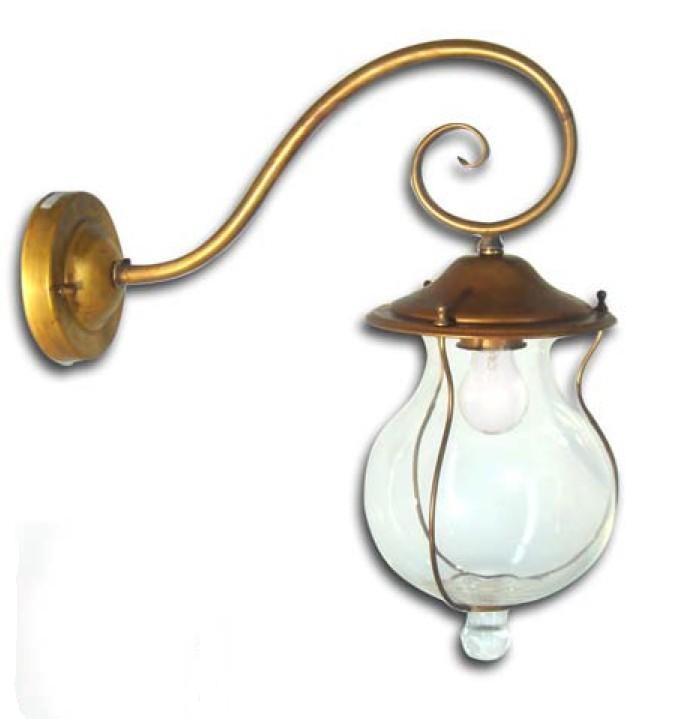 BACCHUS LAMP BRASS WALL GREAT OUTDOOR Classical exterior wall lighting