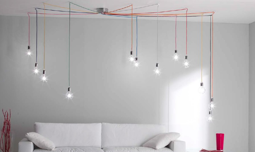 BUBBLE LIGHTS LIGHTING SYSTEM 12 Ultramodern hanging lamps