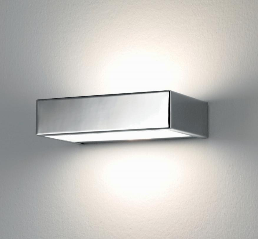 BRIK 1 LIGHT METAL WALL CHROME Ultramodern wall lights