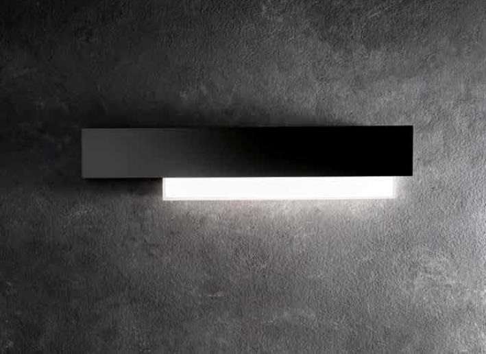 DOHA GREAT WALL LAMP LED WHITE OR BLACK Wall LED lamps