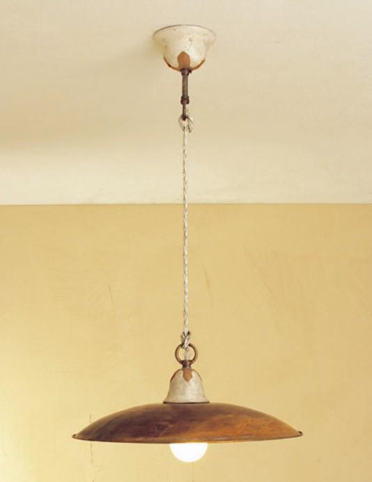 Rustic suspended lamps