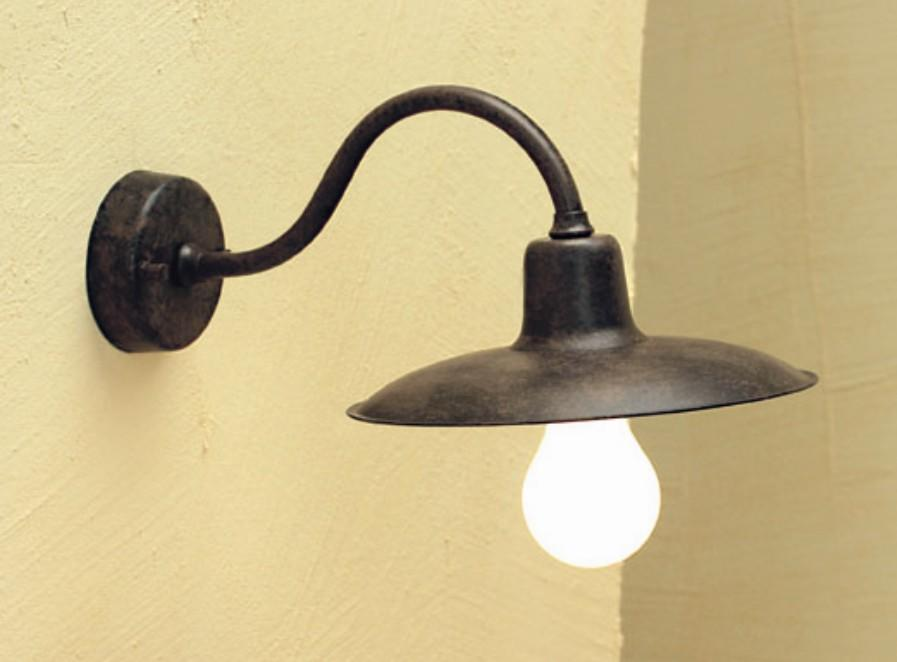 ERA WALL OUTDOOR BRASS Classical exterior wall lighting