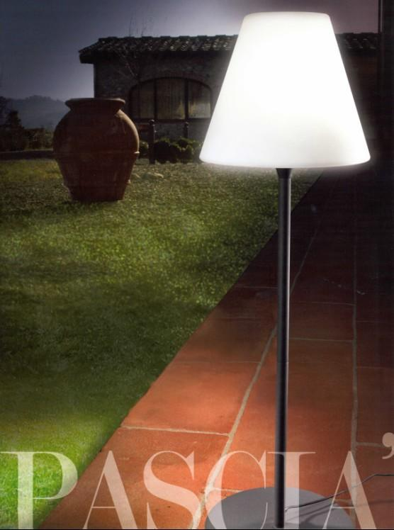 PASCIA' FLOOR LAMP H175 Modern lamps to decorate the garden