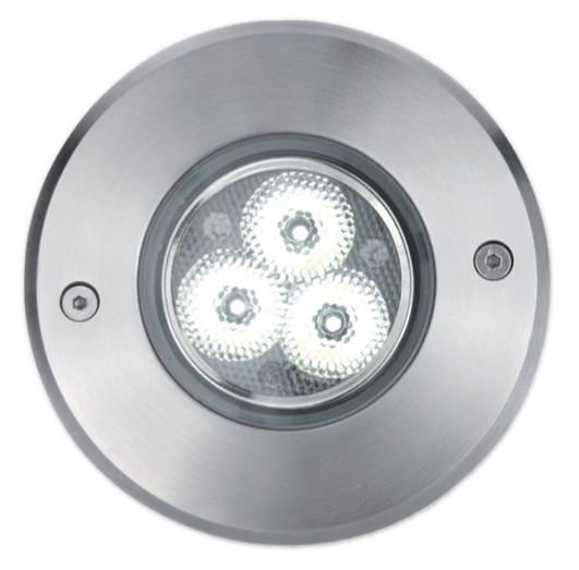 BART LED RECESSED 3X3W IP67 Modern embedded lamps for external use