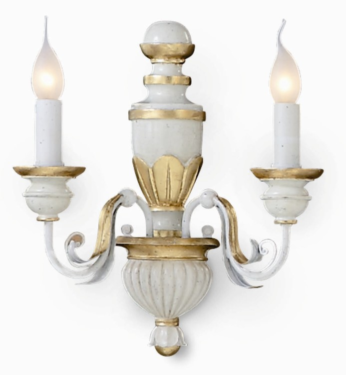 FIRENZE AP2 APPLIQUE Ideal Lux - Applique classiche e ...
