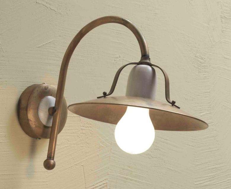 FONSO BRASS WALL Rustic wall lights