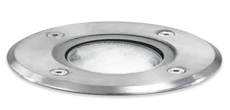 GES 260 RECESSED WITH STEEL IP67 BULB GX53 Modern embedded lamps for external use