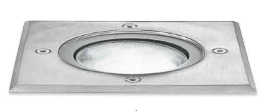 GES 261 RECESSED WITH STEEL IP67 BULB GX53 Modern embedded lamps for external use