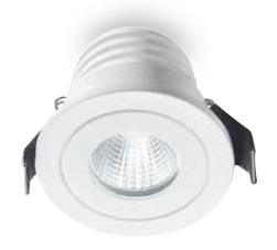 GFA 770 BUILT ALUMINUM LED 5W Recessed spotlights with LED