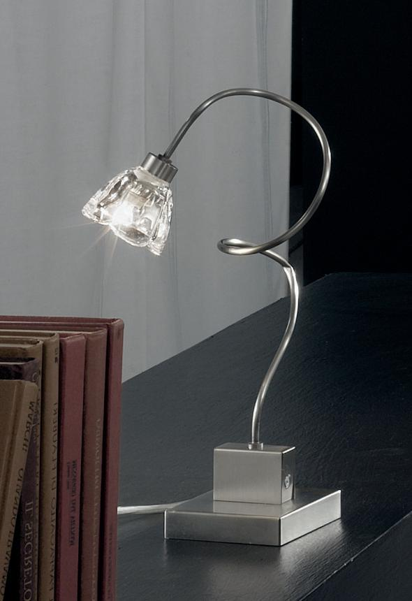 GINEVRA CL TABLE LAMP METAL TUBE WITH SEMI-RIGID Modern table lamps