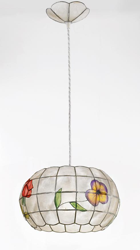 H5564 SUSPENSION MOP DECORATED DIAMETER 33 Suspended Tiffany lamps