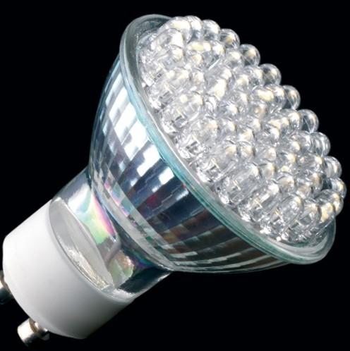 LED 2,7W COLORATE GU10 220-240V