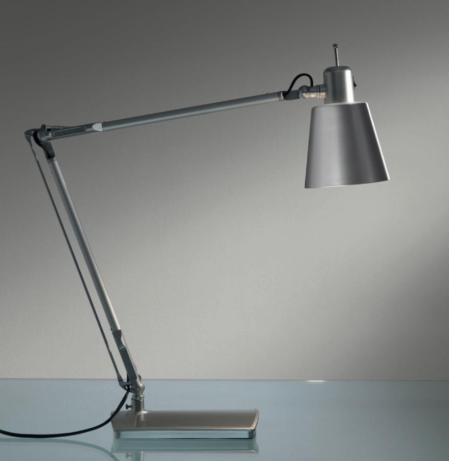 LOLA TABLE LAMP WITH ADJUSTABLE SPEAKER COLORED Modern office lamps