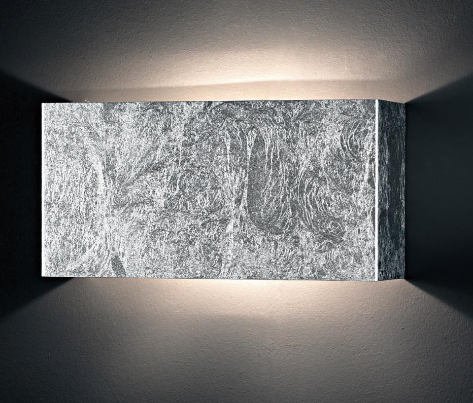 LUI LIGHT METAL WALL GOLD OR SILVER Ultramodern wall lights