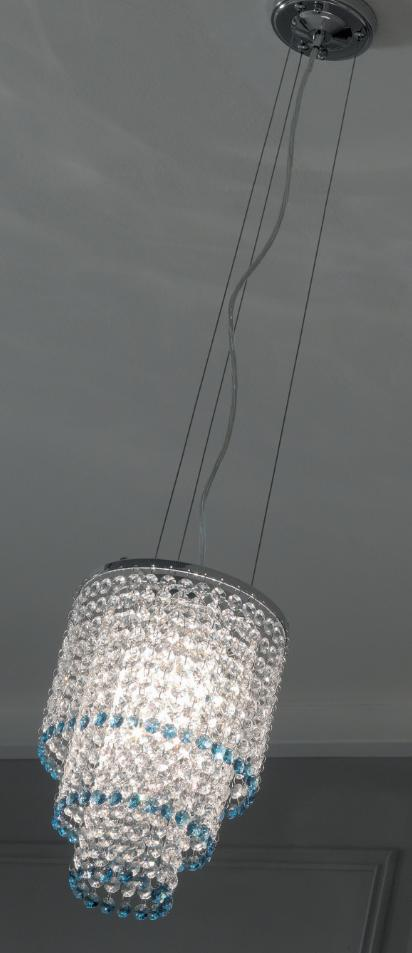 MEDUSA SUSPENSION WITH CRYSTALS Crystal lamps Suspension