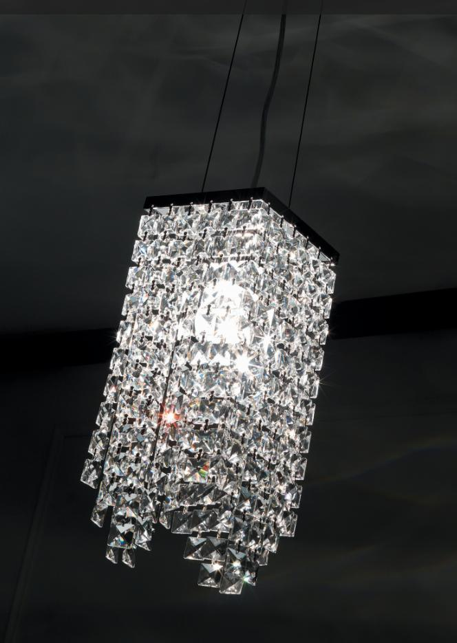 MESSICO SUSPENSION CRYSTAL SMALL Crystal lamps Suspension