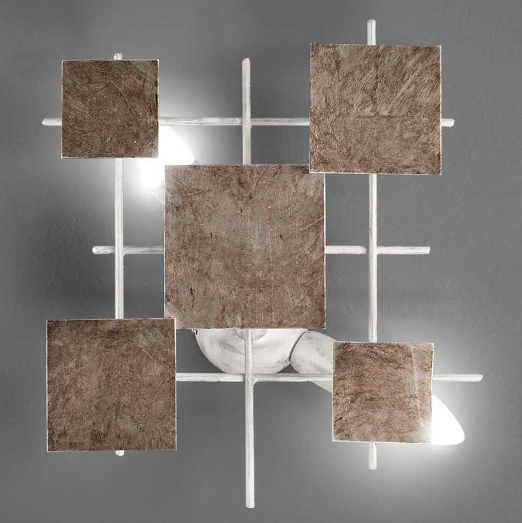 LIGHT METAL PANELS Modern wall lights