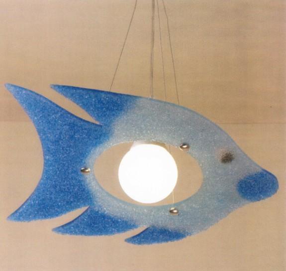 PESCE SUSPENSION Kid's suspended lamps