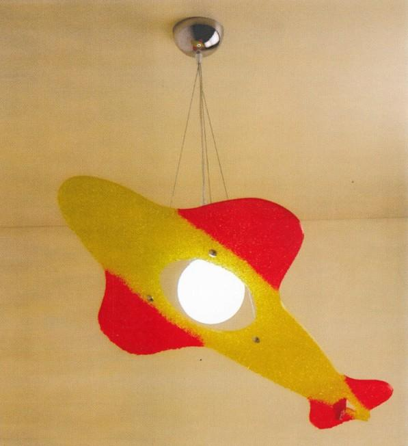 AEREOPLANO SUSPENSION Kid's suspended lamps