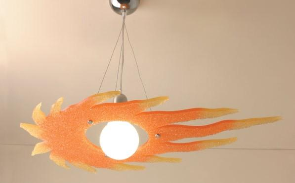 Sole vento suspension Kid's suspended lamps