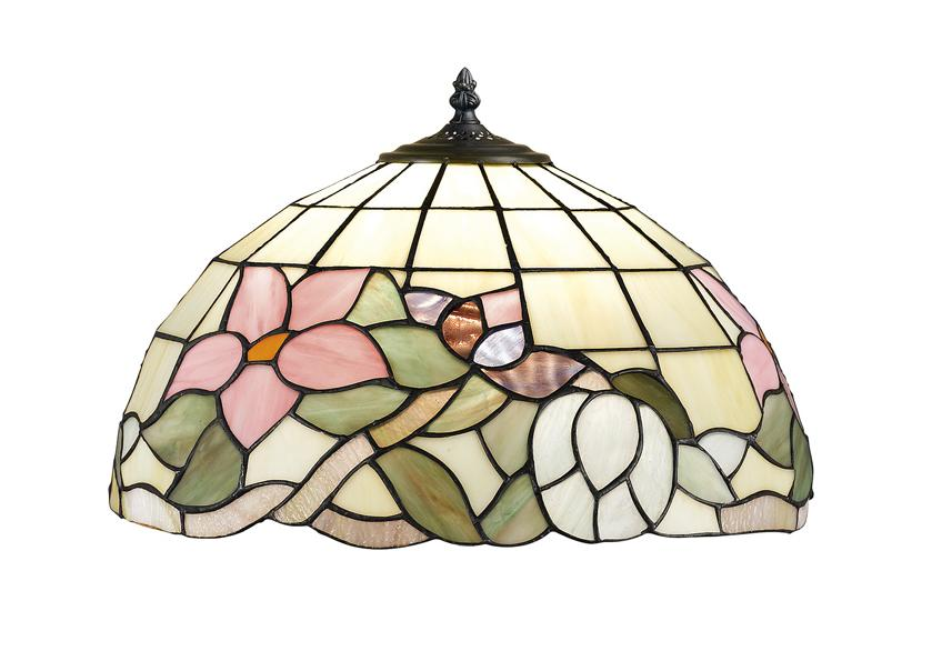 614 SUSPENSION AND TIFFANY DIAMETER 50 Suspended Tiffany lamps