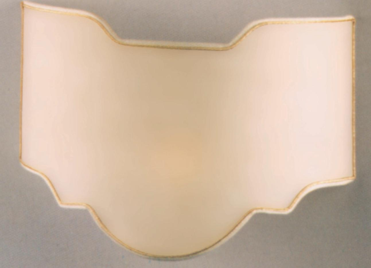 VENTOLA SHAPED 40 PARCHMENT Classic wall lights
