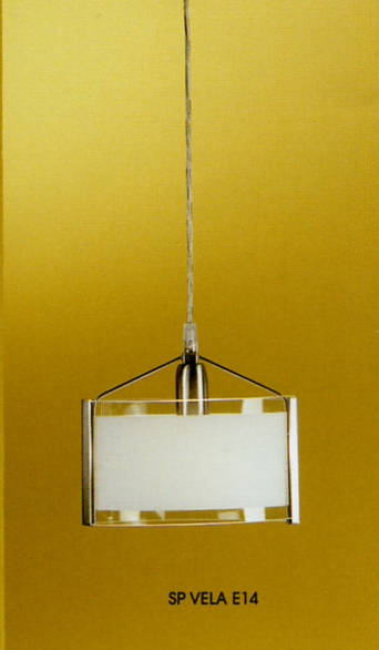 VELA SUSPENSION IN SMALL GLASS Modern suspended lamps